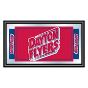 "Trademark NCAA 15"" x 26"" x 3/4"" Wooden Logo and Mascot Framed Mirror, University of Dayton"