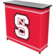 "Trademark 36"" Metal Portable Bar With Case, North Carolina State"