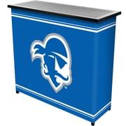 "Trademark 36"" Metal Portable Bar With Case, Seton Hall University"