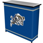 """Trademark 36"""" Metal Portable Bar With Case, United States Naval Academy"""