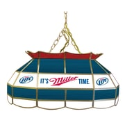 Trademark 28 Tiffany Gameroom Lamp, Miller Lite