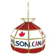 Trademark 16 Tiffany Gameroom Lamp, Molson Canadian