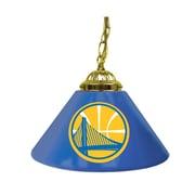 "Trademark NBA 14"" Single Shade Gameroom Lamp, Golden State Warriors"