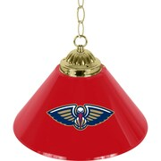 "Trademark NBA 14"" Single Shade Gameroom Lamp, New Orleans Pelicans"