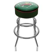 Trademark 31 NHL Padded Swivel Bar Stool, Minnesota Wild