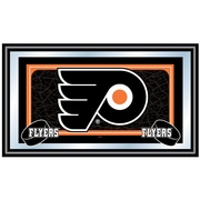Trademark NHL 15 x 27 x 3/4 Wooden Team Logo Framed Mirror, Philadelphia Flyers