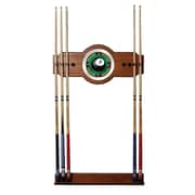 "Trademark 30"" x 13"" Billiard Cue Racks With Mirror"