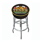 Trademark 30 Padded Swivel Bar Stool, Texas Hold 'em