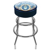 Trademark 30 Padded Swivel Bar Stool, US Air Force