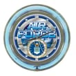 Trademark 14in. Double Ring Neon Clock, United States Air Force