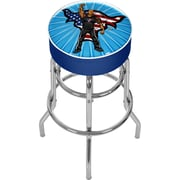 Trademark 31 WWE Padded Swivel Bar Stool, Kids The Rock