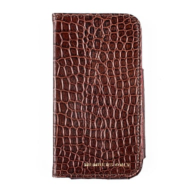 Members Only book case for Samsung Galaxy S4, Chocolate gator