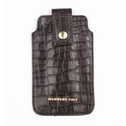 Members Only pouch for iPhone 5/5s/5c, Gray gator