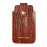 Members Only pouch for iPhone 5/5s/5c, Cognac gator