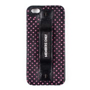 Members Only ladies snap case for iPhone 5/5s, Pink