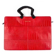 Members Only Tablet/Laptop standard briefcase, Red gator