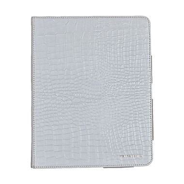 Members Only portfolio case for iPad, White gator