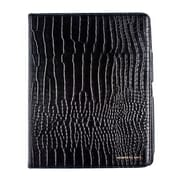 Members Only portfolio case for iPad, Black gator