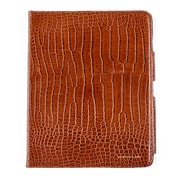Members Only portfolio case for iPad, Cognac gator