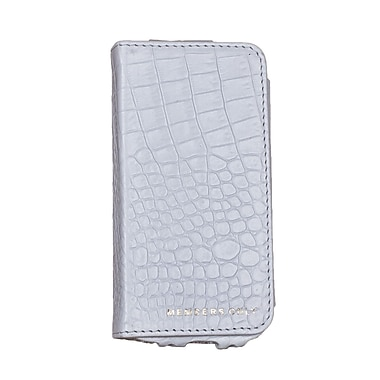 Members Only portfolio case for iPhone 5/5s/5c, White gator