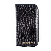 Members Only portfolio case for iPhone 5/5s/5c, Black gator