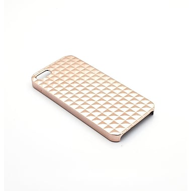 Members Only metallic snap case for iPhone 5/5s, Rose gold