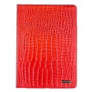 Members Only Bovine Leather Portfolio Case for Apple iPad Air, Red Gator