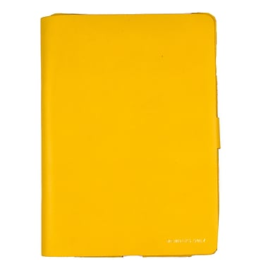 Members Only Bovine Leather Portfolio Case for Apple iPad Air, Citrine