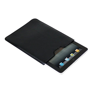 Premiertek LC-IPAD-BK Leather Sleeve for Apple iPad, iPad 2, Black