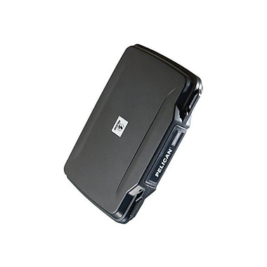 Pelican 1070-005-110 ABS Plastic Hardback Case for Apple iPad 1/2 USA Chargers, Black
