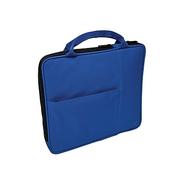 V7® Attache Slim Case With Pockets For All iPad, Blue