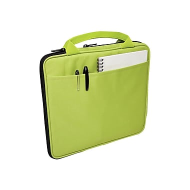 V7® Attache Slim Case With Pockets For All iPad, Green