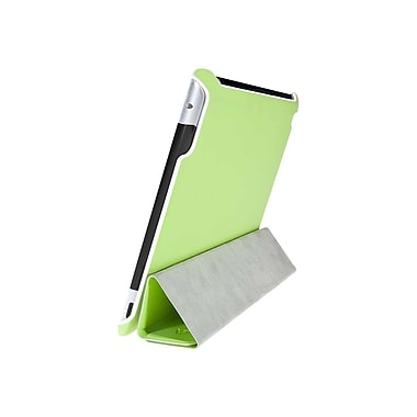 V7® Slim Tri-Fold Folio and Stand For iPad 2, Green