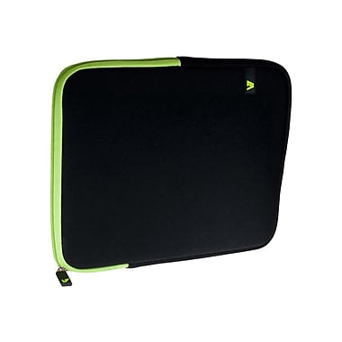 V7® Ultra Protective Sleeve For iPad, Black/Green