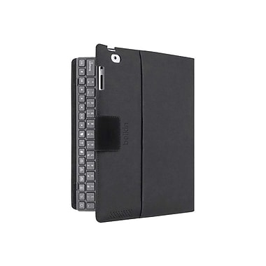 Belkin™ YourType™ Keyboard/Cover Case For iPad, Black/Red