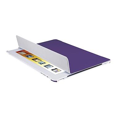 V7® Slim Tri-Fold Folio and Stand For New iPad 2/3/4th Gen, Purple
