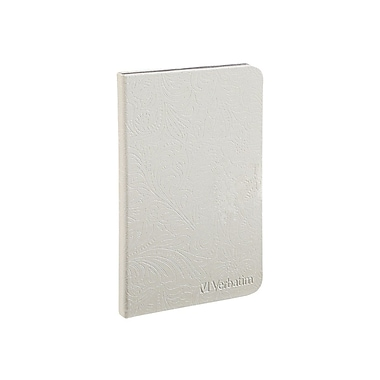 Verbatim® Folio Case With LED Light For Kindle, Pearl White