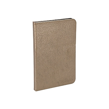 Verbatim® Folio Case With LED Light For Kindle, Bronze