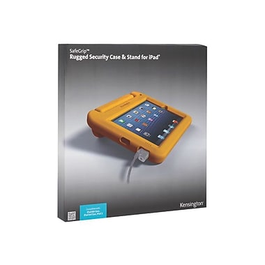 Kensington® SafeGrip™ Security Case Without Lock For iPad, Sunshine Yellow