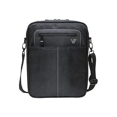 V7 CMX3-9N Polyester Cityline Vertical Messenger for 10.1
