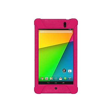 Amzer® Silicone Skin Jelly Case For Google New Nexus 7, Hot Pink