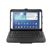 Aluratek Bluetooth Folio Case With Removable Keyboard ForGalaxy Note 8.0, Black