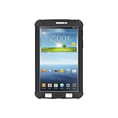 Amzer® Silicone Skin Jelly Case For 7in. Samsung Galaxy Tab 3, Black