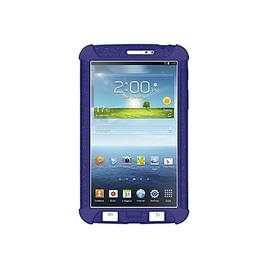 Amzer® Silicone Skin Jelly Case For 7in. Samsung Galaxy Tab 3, Blue