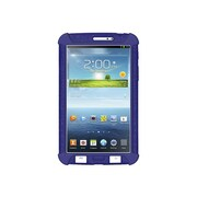 Amzer® Silicone Skin Jelly Case For 7 Samsung Galaxy Tab 3, Blue