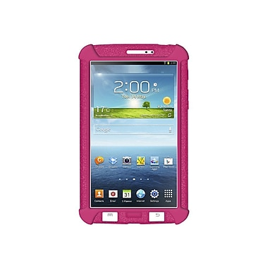 Amzer® Silicone Skin Jelly Case For 7in. Samsung Galaxy Tab 3, Hot Pink