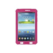 Amzer® Silicone Skin Jelly Case For 7 Samsung Galaxy Tab 3, Hot Pink