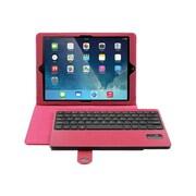 Aluratek Bluetooth Keyboard Folio Case For iPad Air, Red