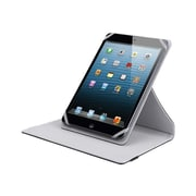 "V7 TUC25R-10-GRY-14N Polyurethane Universal Rotating Case and Stand for 10.1"" Apple iPad Mini and Tablet PCs, Gray"