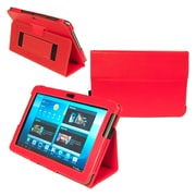 Kyasi™ London All Business Carrying Case For 10.1 Galaxy Tab 2, Rad Red